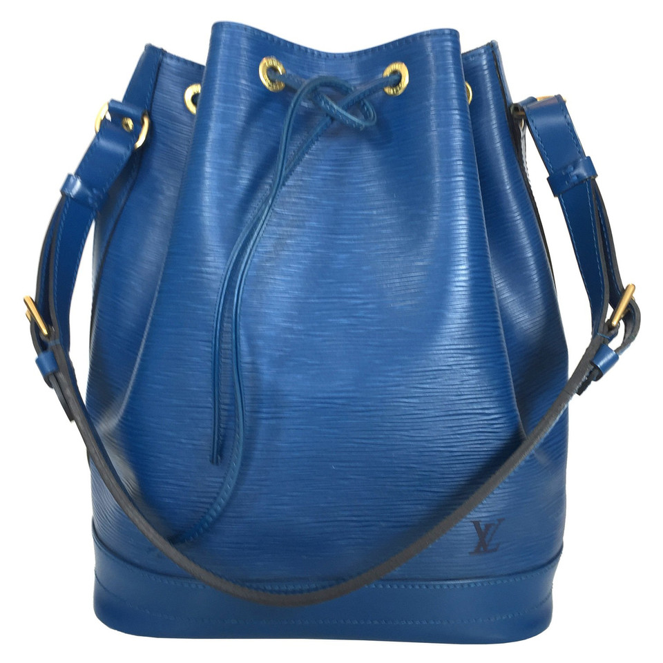 "Louis Vuitton ""Grand Noé Epi leather"" in blue"