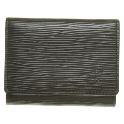 Louis Vuitton Business card case in black