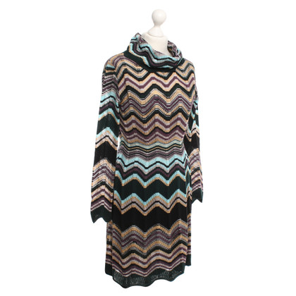 Missoni Colorful striped long sleeve dress