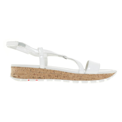 Prada Sandals in White