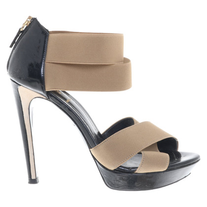 Fendi Laksleren sandalen