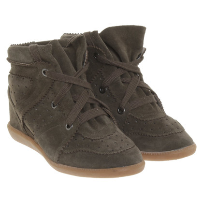 Isabel Marant Suede wedges