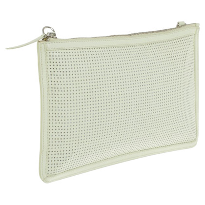 French Connection clutch leather