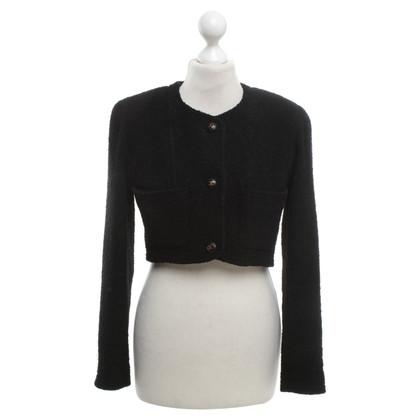 Chanel Giacca corta in nero