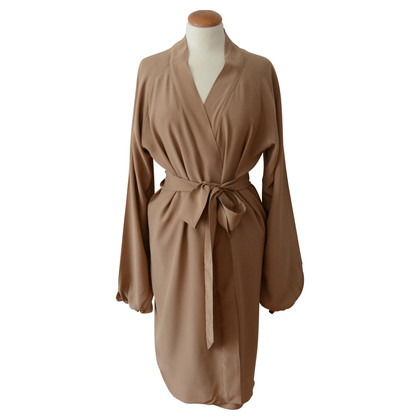 Antonia Zander Trench coat with cashmere and silk