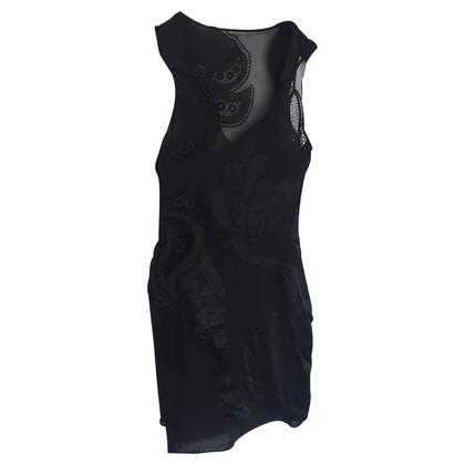 Karen Millen Zwarte zijden jurk