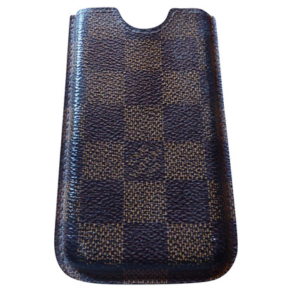 Louis Vuitton Iphone 4 Case in Damier Canvas