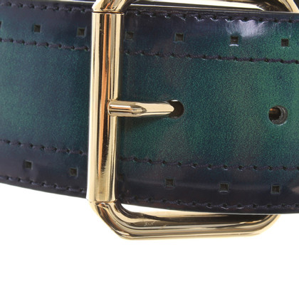 Escada Waist belt with color gradient