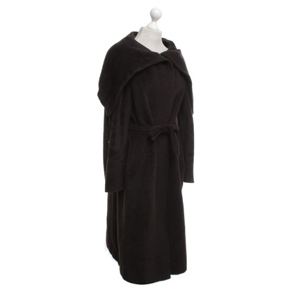 Max Mara Coat in donkerbruin