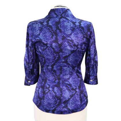 Karen Millen Silk blouse with pattern