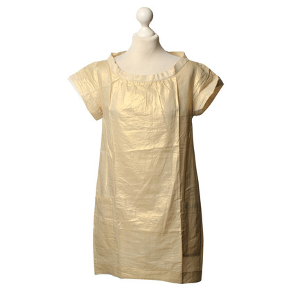 Vanessa Bruno Gold-colored T-Shirt dress