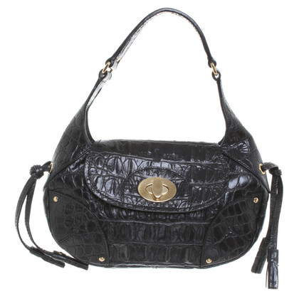 Car Shoe Small handbag in black