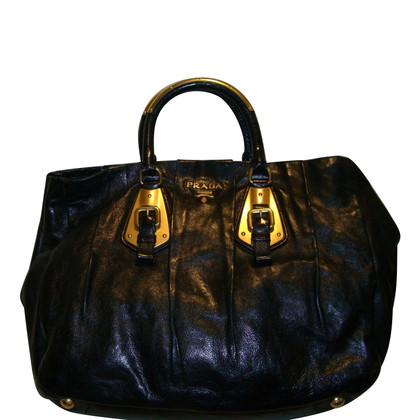 Prada shoppers Leather
