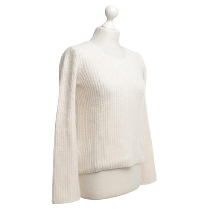 Armani Jeans Cremefarbener Pullover
