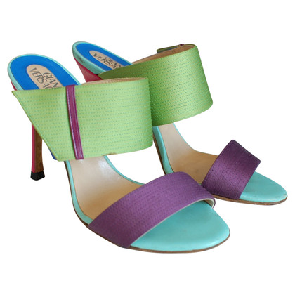Versace Versace Color-Block Heels