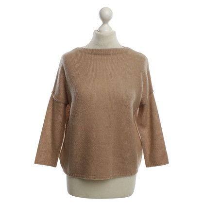 360 Sweater Cashmere Sweater in Light Brown