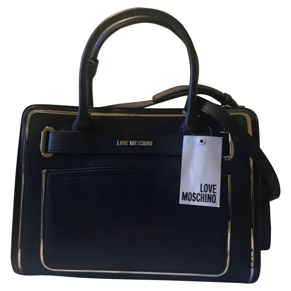 moschino love handtasche second hand moschino love handtasche gebraucht kaufen f r 120 00. Black Bedroom Furniture Sets. Home Design Ideas