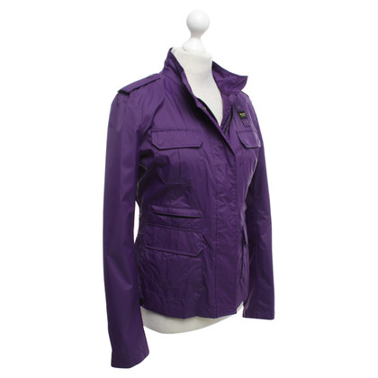 Blauer USA Regenjas in purple