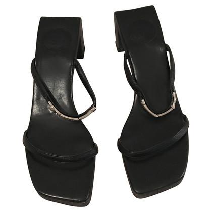 Versace Black sandals