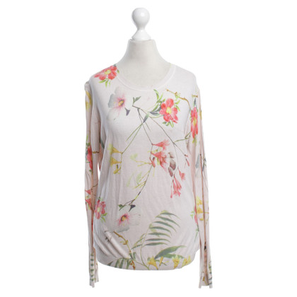 Ted Baker Knitted sweater with floral pattern