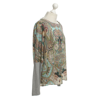 Marc Cain top with colorful patterns