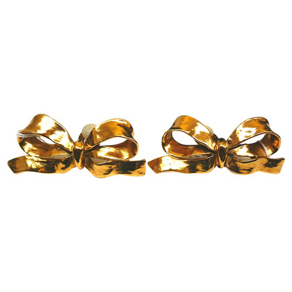 Yves Saint Laurent Clip earrings