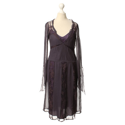Day Birger & Mikkelsen Seidenkleid in Violett