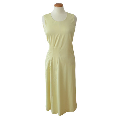 Jil Sander Midi Dress in pastel geel