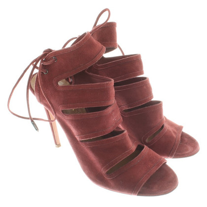 Aquazzura Sandals in Bordeaux