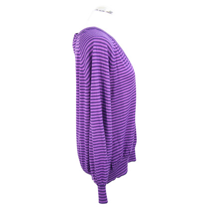 French Connection Pull rayé en violet