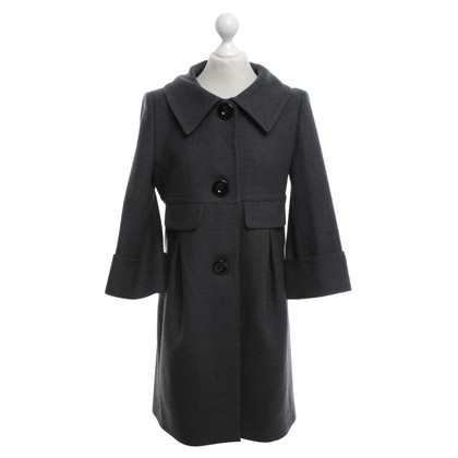 Piu & Piu Gray wool coat