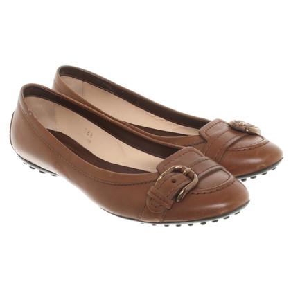 Tod's Ballerinas in brown