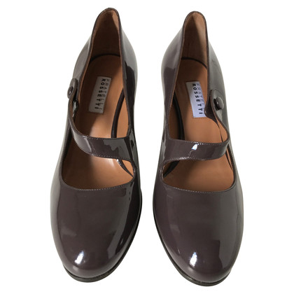 Fratelli Rossetti pumps in eggplant