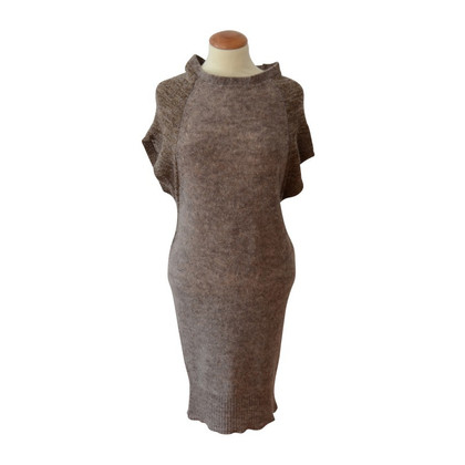Humanoid Brei jurk in Eggshape