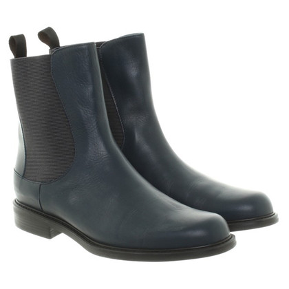 Pollini Chelsea boots in blue