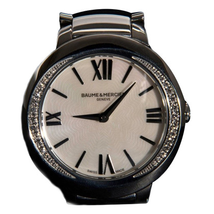 "Baume & Mercier Clock ""Promesse MOP 30 Diamonds"""