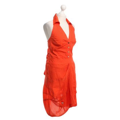 Karen Millen Neckholderkleid in Orange