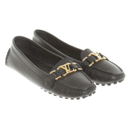 Louis Vuitton Slipper in Schwarz
