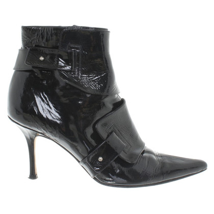 Jimmy Choo Lackleder-Stiefeletten