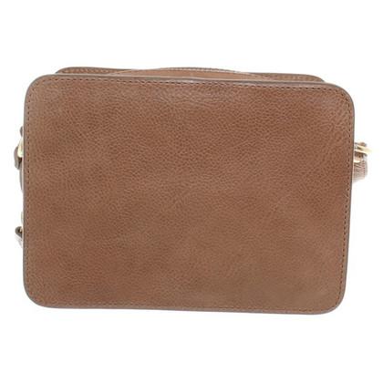 Closed Shoulder bag in brown
