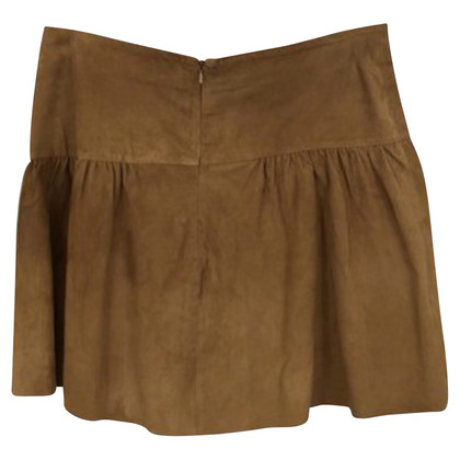 Bash leather skirt