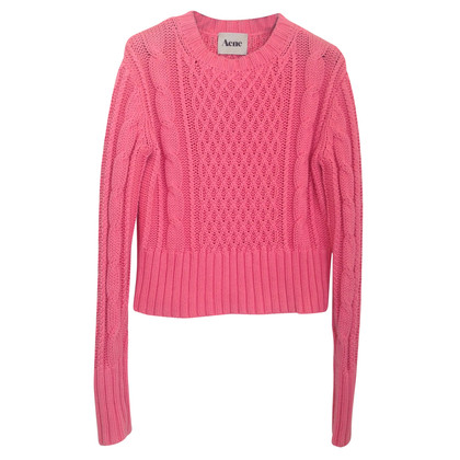 Acne Strickpullover in Pink