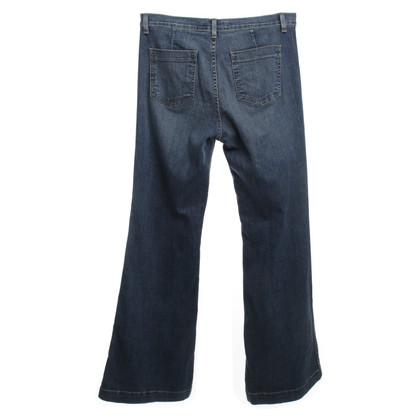 J Brand Jeans avec des jambes évasées