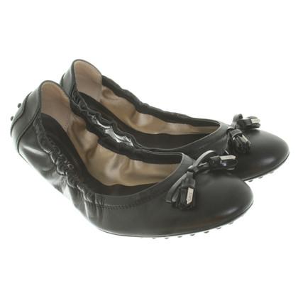 Tod's Ballerinas in black