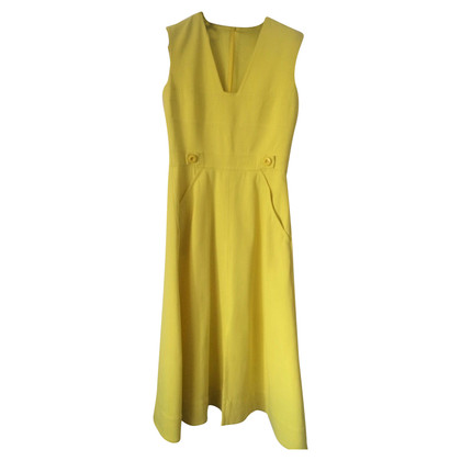 Escada yellow dress