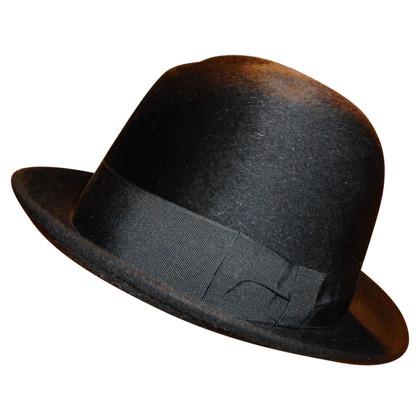 Borsalino Hoed in zwart