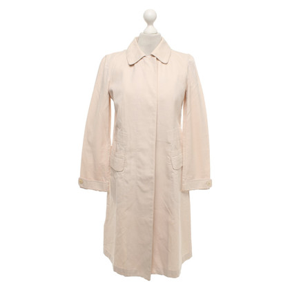 DKNY Coat in nude