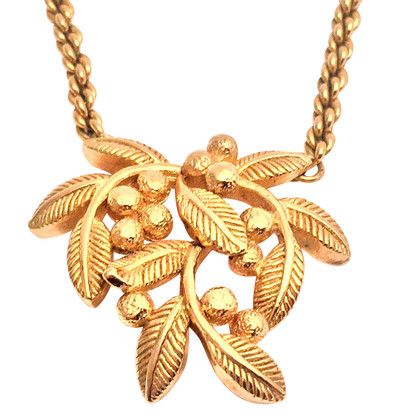 Christian Dior  Necklace with olive branch