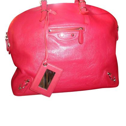 """Balenciaga """"City Bag"""" in Rot"""