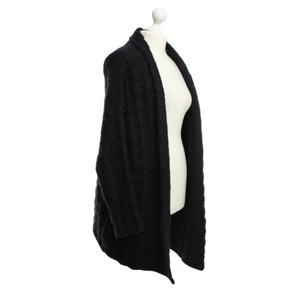 Maje Cardigan in blue / black
